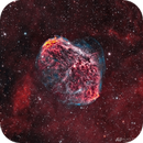 NGC 6888 - The Crescent Nebula,                                Alan Pham
