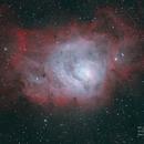 M8 - Lagoon Nebula - BiColor,                                Michael Blaylock
