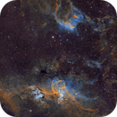 NGC 3576 - A Statue in the Midst,                                Matthew Sole