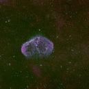 Bicolour NGC6888,                                apaquette