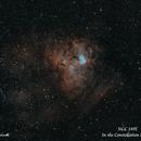 NGC 1491  Rev II   SHO,                                Paul Borchardt