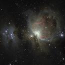 Part II -> First light with my ASI2600 mc camera - (M42 and running man),                                Ian Dixon