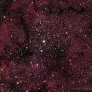 IC 1396 Garnet Star Nebula & The Garnet Star (Mu Cephei),                                astrobillbinMontana