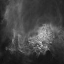 IC 405 - Flaming Star Nebula, starless [Ha],                                jdifool