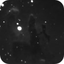 Pillars of Creation - First Light with ASI290MM,                                Chappel Astro
