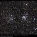 The Double Cluster in Perseus,                                Andre van Zegveld