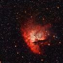 "NGC 281 informally known as the ""Pacman Nebula"",                                Steve Lenti"