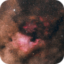 North America and Pelican Nebula - First attempt at atrophotography,                                MartyMart