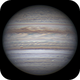 Jupiter 28 Apr 2018 - Animation - North up,                                Seb Lukas