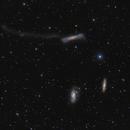 Leo  Triplet (M65, M66, NGC 3628),                                Kongyangshik