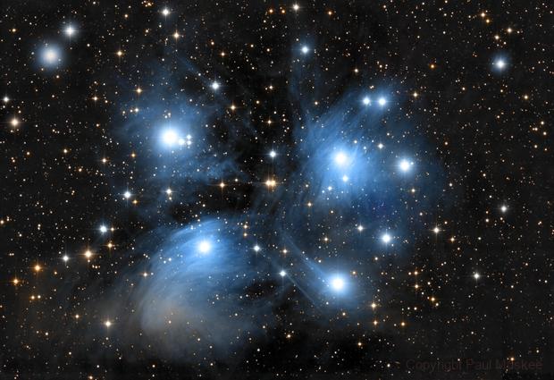 M 45 (Pleiades),                                Paul Muskee
