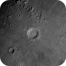 La Lune le 23 Janvier 2021 - C11 - Asi 178 - Filtre Baader 610nm,                                Alain-Bouchez