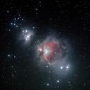 M42 in Orion,                                RonAdams