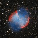 M27 Dumbbell Nebula 2021,                                Carlo Caligiuri