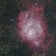 Nébuleuse de la Lagune M8,                                Nicolas JAUME