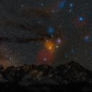 Scorpius rising over Tatra mountains,                                Piotr Czerski