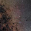 RCW 114 & C/2016 M1 - A Milky Way Field and a Solar System Surprise,                                Gabriel R. Santos (grsotnas)