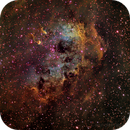 IC 410 Hubble palette,                                FrancescoTallarico