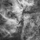The Great Carina Nebula in H-Alpha,                                  Delberson
