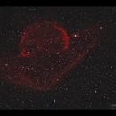 Sh2-224 supernova remnant in Auriga, HaRGB,                                Göran Nilsson