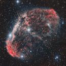 NGC 6888, the brain,                                Gottfried Meissner