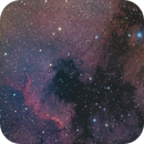 North American and Pelican Nebulae - 2 panel Mosaic,                                JD