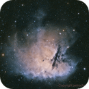 pacman Nebula NGC 281 narrowband,                                astrochips