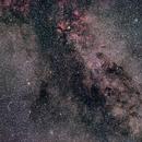 Milky Way in Cygnus from Sadr to Albireo,                                AC1000