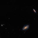 NGC3031 (M81, Bodes-Galaxy) und NGC3034 (M82, Cigar-Galaxy) und NGC3077,                                wittinobi