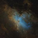 M16 Eagle Nebula SHO,                                John D (jaddbd)