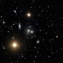 Hydra Galaxy Cluster - from Chile,                                Glenn C Newell