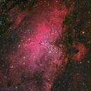 Eagle Nebula (Messier 16) ,                                Miles Zhou