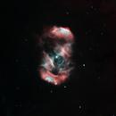 NGC6164-65 in Ha-OIII Bicolor,                                John Ebersole