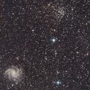 the Fireworks Galaxy, ngc6939 and ugc11583,                                Frigeri Massimiliano