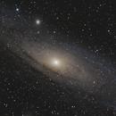 M31 - Galaxie D'andromède - Aout 2017,                                dsoulasphotographie
