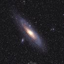 Messier 31 Great Galaxy in Andromeda,                                Paweł Radomski