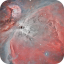 Orion Nebula with Esprit 80ED,                                Henning Schmidt