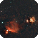 Orion with a 135 mm lens at f/2.8,                                Johannes D. Clausen