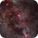 NGC 6357, NGC 6334, IC 4628, NGC 6188,                                Gerhart