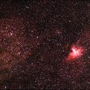 Eagle Nebula,                                bunyon