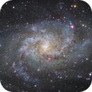 M33 - The Triangulum Galaxy,                                Pavel Karavatskiy