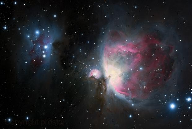M42 LRGB,                                Craig Prost