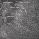 Moon  - Apollo 11 & 16 landing sites,                                aviegas