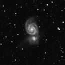 M51 Halo - Luminance,                                Andreas Dietz