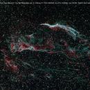 NGC6960 Veil Nebula - CFHT Palette - FSQ 106 ED,                                Giuseppe Peltran