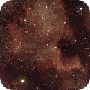 NGC 7000 : From noise to an image,                                Boutros el Naqqash