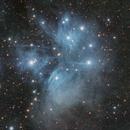 M45- The Pleiades,                                Denis Labelle