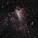The Checkbox Nebula - M17,                                Jon M. Sales