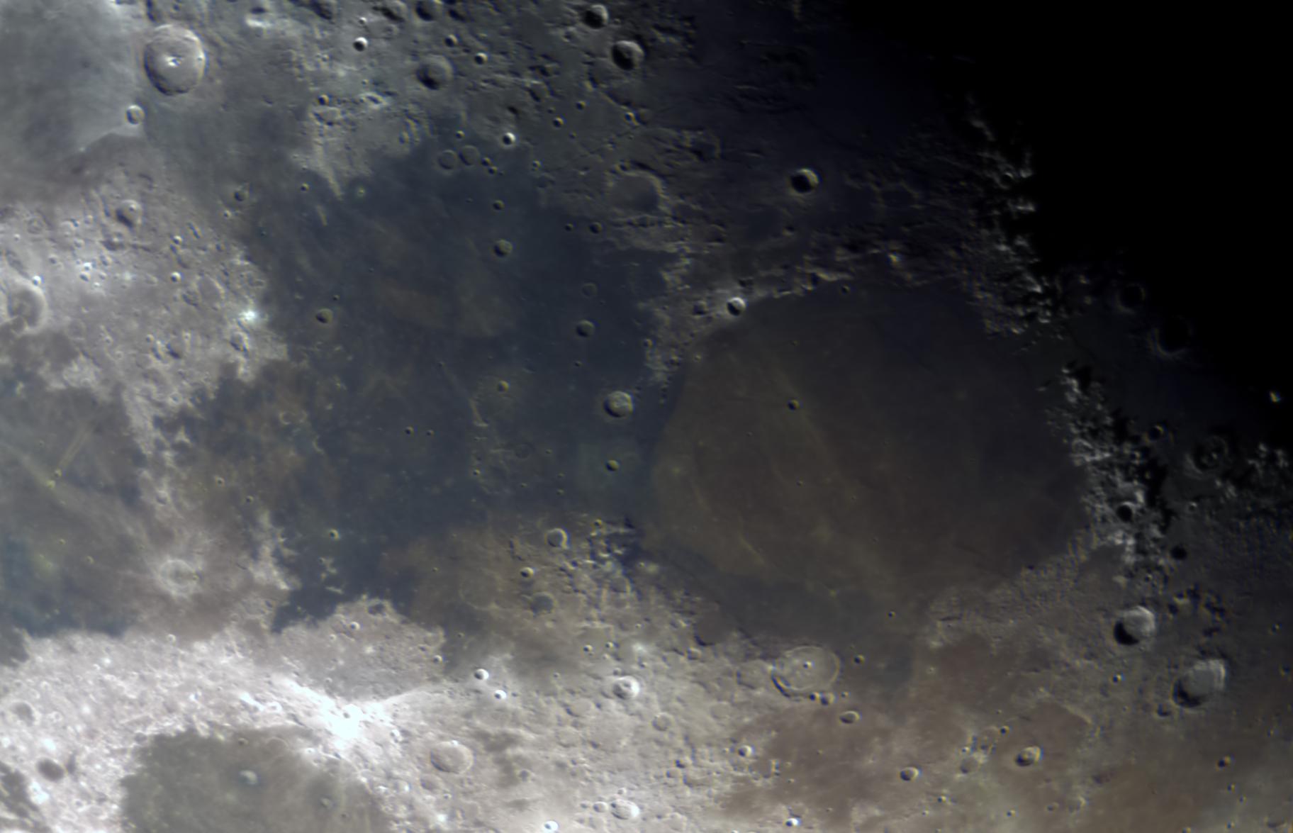 True Color - Moon 10/6/19,                                Marlon