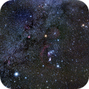Wide View of Orion area of SKY,                                Dennis Recla